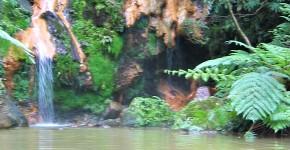 Wasserfallbaden